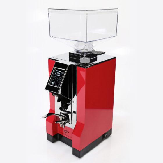 rote Kaffeemühle Eureka Mignon magnifico