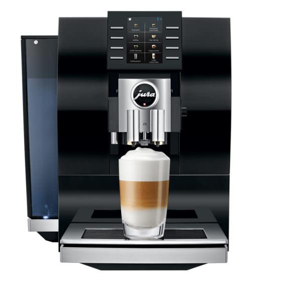 Kaffeevollautomat der Marke Jura in schwarz